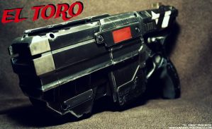 EL TORO - CUSTOM NERF VIGILON PROGRESS by JohnsonArms