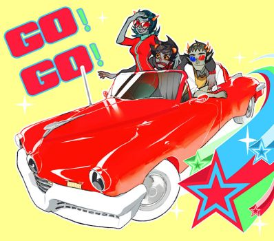 go go power trollas by Kiddy-chan