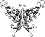 celtic butterfly by roblfc1892