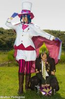 Mephisto and Amaimon by sweetmuffins