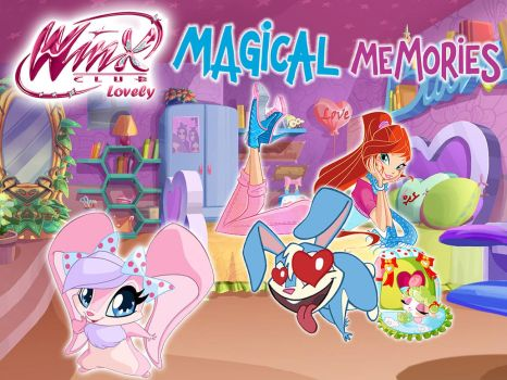 Winx Club wallpaper: Kiko and Valentine by WinxLovely