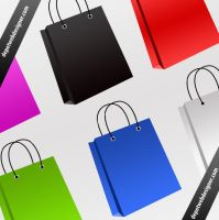 Shopping bag icon by webodream