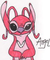 Angel- For NeoStitch by AlterEgoAngel