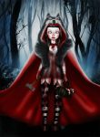 Little Red Riding Hood can take care of herself by mai-coh