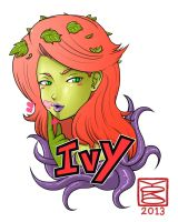 Poison ivy by Y0KO
