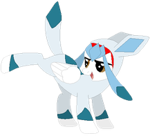 Ponymon: DreamCaster as Glaceon by DreamCasterPegasus
