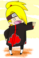 Deidara Bringing Sexy Back by Septic-Kitty