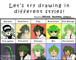 different styles meme 2 by artist-black