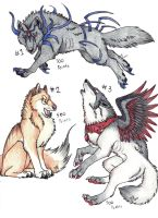 wolf adoptions batch 2 by Suenta-DeathGod