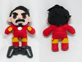 Iron Man Plush Doll by SeamsLegit