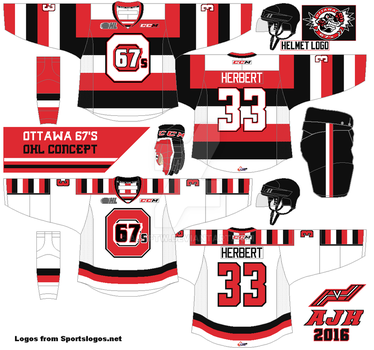 Ottawa 67s OHL concept 2016 by AJHFTW