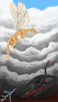 Heaven and Hell by Ravenfire5