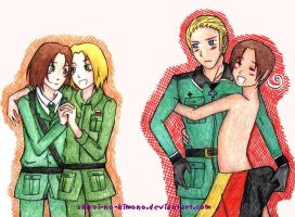 APH: Totally in love by shiroi-no-kimono