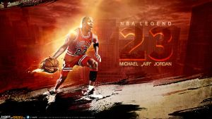 Michael Jordan by Orzeu