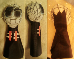 Pinhead plushie....I guess by Horror-Forever13