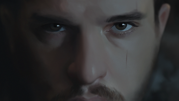 Eyes of the Snow - Game of thrones by lchrno