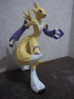 Papercraft Renamon by LoyalCellHeart