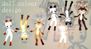 Doll colours~ by bolt-for-home