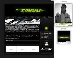 Z Y A N C A L I page by sCreamdeluxe