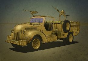 General Vehicle Ford SOF Truck Colour Tweak by tincap
