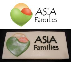 ASIA Logo made into a cookie by onyxlovechild