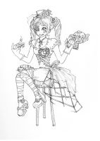 Steampunk Teatime by thesmallestinsanity