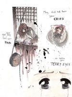 Pain Cries Teary Eyes by Elby-manga-addicted