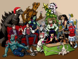 2014 Christmas Party by strangefour