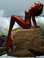 Mermaid Merrique by sirenabonita
