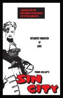 Sin City Poster Gail by mrhobo87