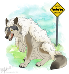 Wolf in sheep's clothing by CunningFox
