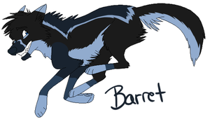 :BO:Barret: by NightmareAdoptables