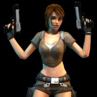 Lara Croft: Tomb Raider Legend 5 by Irishhips