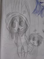 Lil ghoul and The Chaser by Asvoria21