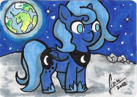 Woona ACEO by Lisiu