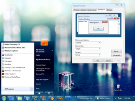 Windows 7 Beta style for XP by saintlouiss