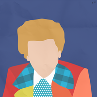 The 6th Doctor (Simplistic) by Geoffery10