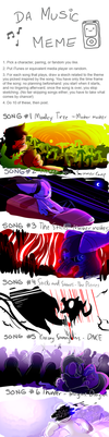 DA MUSIC MEME by OliveCow