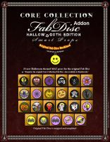 Fab Disc Hallow'd Goth Ed P2 by inception8