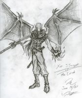 The Assassin Spreads His Wings by Draxen