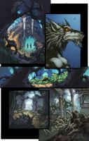 WoW Curse of the Worgen 3 pg02 by Tonywash