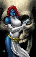 Mystique commission colors by hanzozuken