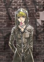 In the rain-Roxas by Celtreny