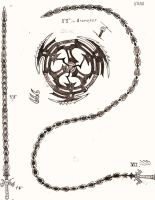Weapon Concept Art: Whipsword and Giant Chakram by RedW0lf777sg
