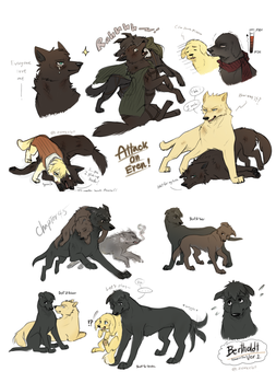 Attack on Titan Dogs Dump3 by Zencelot