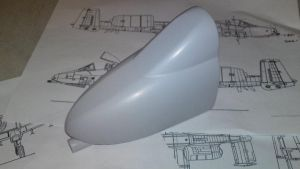 1/24th scale A10 nose by SARGY001