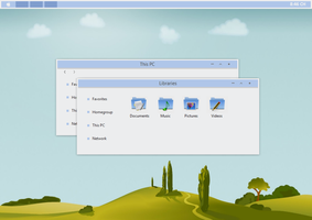 BLE Theme Windows 8.1 by cu88