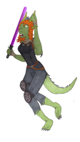 May the Fourth: Mara Jade Krayt Dragon TF by Kathalia