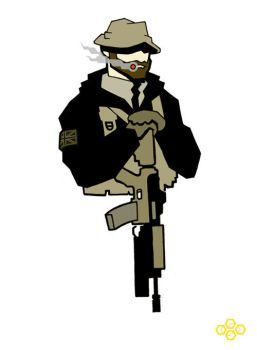 Captain Price - MW2 by flashmcgee