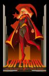 Soviet Supergirl Poster by PaulSizer